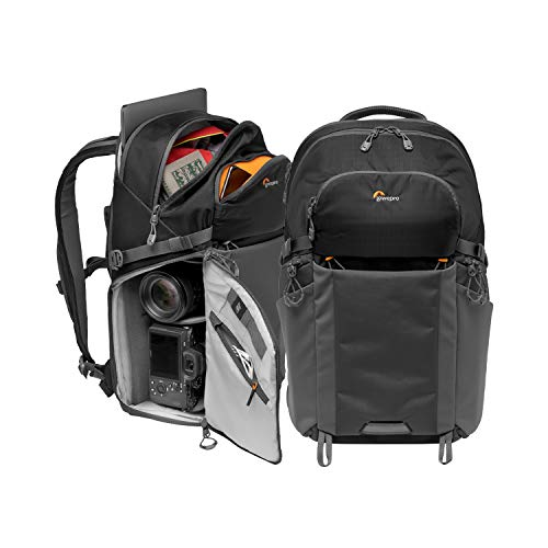 Lowepro LP37255-PWW Photo Active Zaino Outdoor con Divisori QuickShelf, Laptop 15'/iPad, Vano...