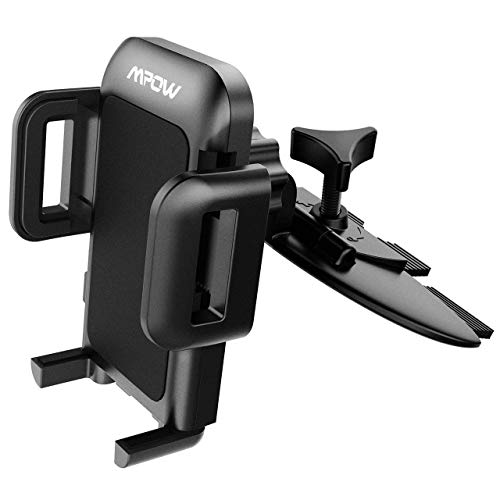 Mpow Car Phone Holder MCM3 Air Vent Mobile Mount for Phones up to 6-inches (Black)