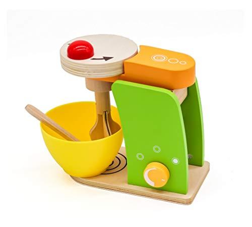 Robot Cucina Giocattolo legno per bambini. Impastatrice playset cucina
