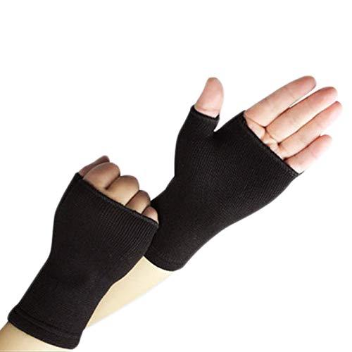 Guanti da mezzo dito per uomo e donna ultra sottili e traspiranti Supporti per polso elastici...