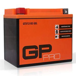 Batterie 12V 10Ah Gel GP-Pro (TYP - GTX12-BS/ähnlich YTX12-BS) (versiegelt/wartungsfrei) 9