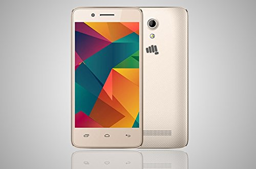 Micromax Bharat 2 Mobile Phone 4G VoLTE (Champagne)