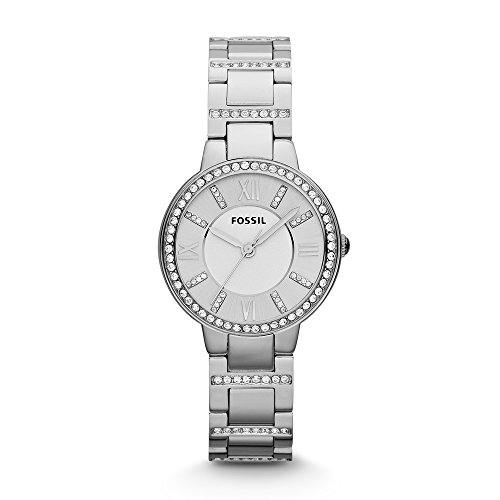 Fossil Virginia Analog Silver Dial Women's Watch-ES3282