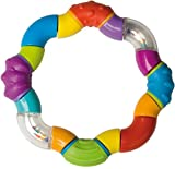 Nuby ID502 Twisty Rattle Massaggiagengive