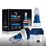 TXVSO 50W 9005/HB3 LED Car Headlight 12000LM Kit di ricambio per lampade alogene allo xeno, 6000K bianco, 25W/Lampadina, 2pz/set