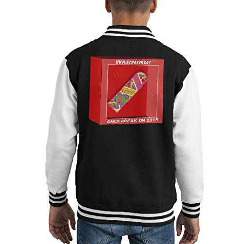 Back To The Future Hoverboard Break In 2015 Kid's Varsity Jacket