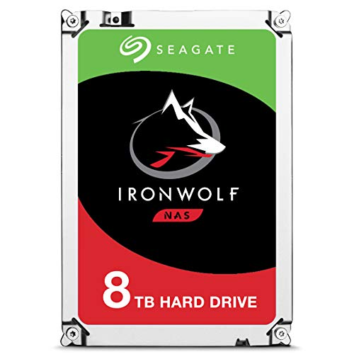 Seagate Barracuda 8TB 8000GB Serial ATA III internal hard drive (3.5', 8000 GB, 5400 RPM, Serial ATA...
