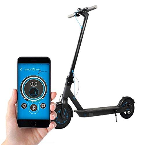 SmartGyro Xtreme, Unisex Erwachsene Elektro Scooter L Schwarz