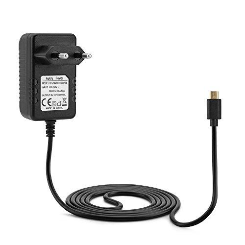 Aukru Micro-USB 5V 3000mA Ladegerät Adapter Stromversorgung für Raspberry Pi 3, Pi 2Modell B und Modell B + (B Plus), Banana Pi
