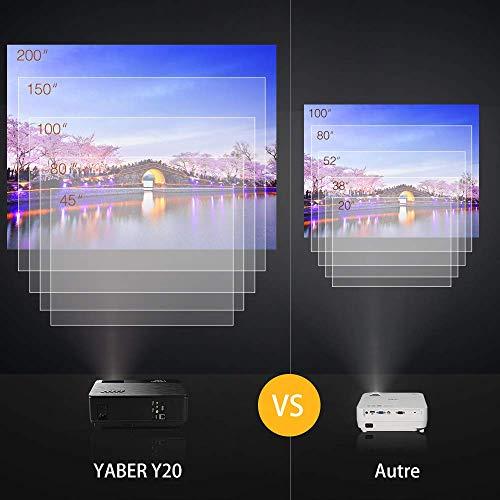 YABER Vidéoprojecteur 4200 Lumens Soutien 1080P Full HD Home Cinéma Projecteur LED avec Deux Haut-parleurs Stéréo (de Qualité HiFi - Haute-f... 7