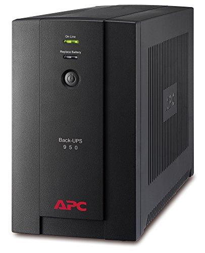 APC Back-UPS BX - BX950UI - Gruppo di continuità (UPS) Potenza 950VA (AVR, 6 Uscite IEC-C13, USB,...