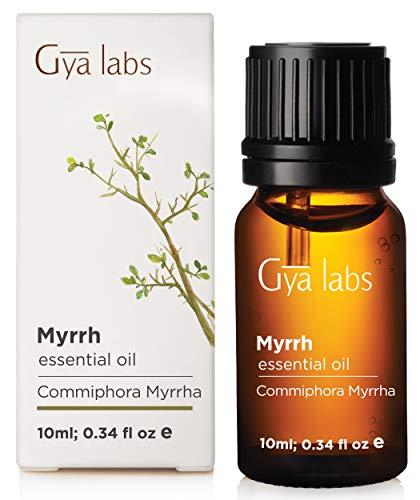 Aceite Esencial de Mirra - Grado Terapéutico 100% Puro para Difusor de Aromaterapia - 10 ml - Gya Labs