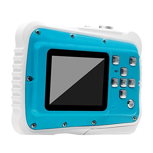 FidgetGear Waterproof Digital Camera Kids Digital Camera 21MP HD Underwater Action Camera Camcorder 2.0 inch LCD Screen 8X Digital Zoom