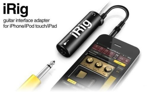 APLINK Multimedia iRig Guitar AmpliTube Plug Interface Adapter for IPad IPhone