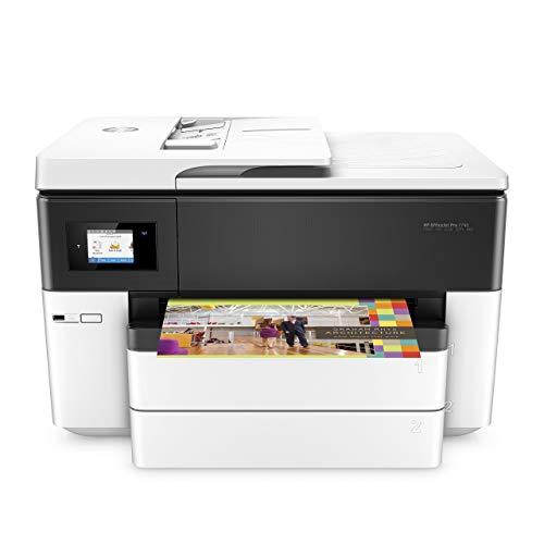 HP OfficeJet Pro 7740 (G5J38A) Stampante Multifunzione a Getto di Inchiostro per Grandi Formati A3,...