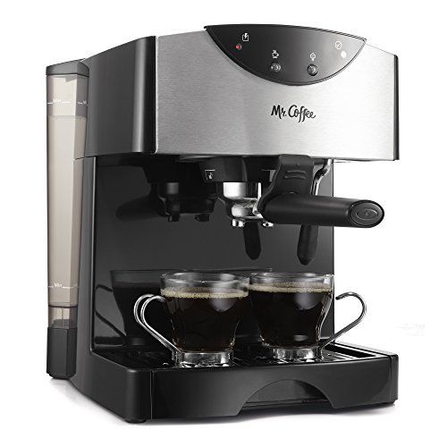 Mr. Coffee ECMP50 Espresso/Cappuccino Maker Black
