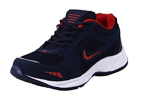 Black macy Men's Stylish Running Shoes (7)