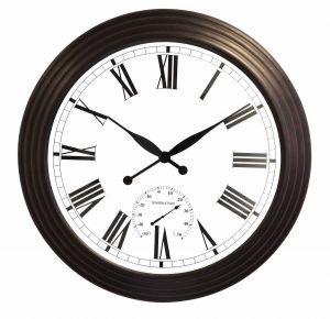 Orologio gigante per esterni - 'Marrone Antico' - 69cm