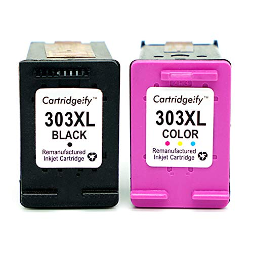 Cartridgeify 303XL Compatibili per HP 303 XL Cartucce, per HP Stampanti a Getto di Inchiostro ENVY...
