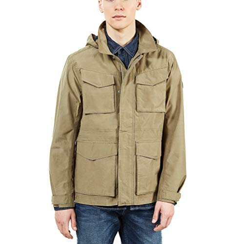 Timberland Doubletop Mountain Parka, Verde (Martini Olive Q69), S Uomo