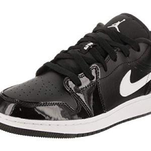 Nike Air Jordan 1 Low White White Youths Trainers 41FBItr4dhL