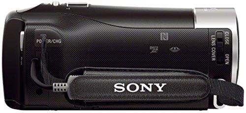 "Sony HDR-PJ410 - Videocámara (pantalla de 2.7"", zoom óptico 30x, WiFi, NFC), negro"