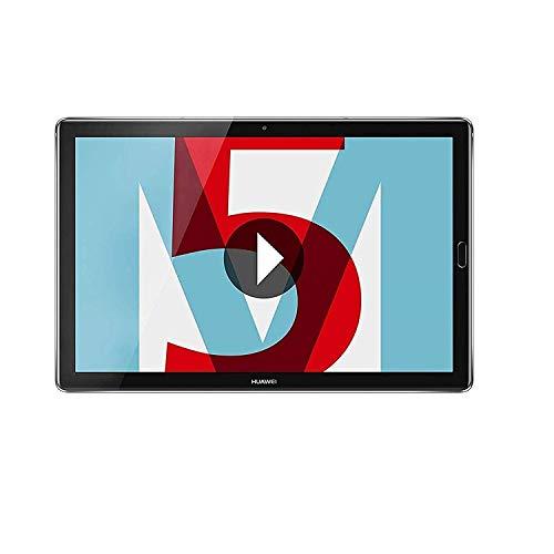 Huawei MediaPad M5 - Tablet 10.8' 2K IPS (WiFi, Procesador Octa-Core Kirin 960, 4 GB de RAM, 32 GB de Memoria Interna, Android 8.0) Gris