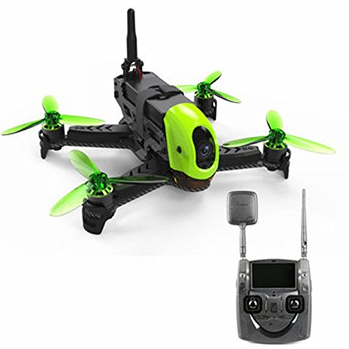 LanLan Hubsan h123d x4Jet 5.8G FPV Brushless Racing drone con 720P regolabile HD fotocamera RC...