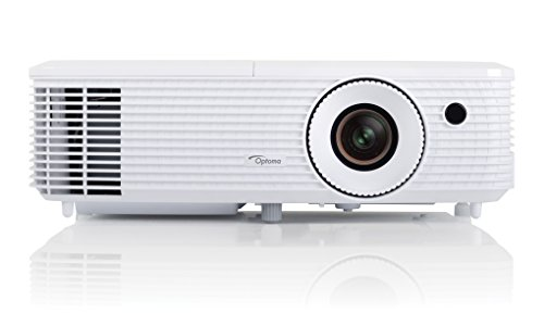 Optoma HD27 - Proyector (3200 lumens, FHD, 2W, HDMI), color blanco