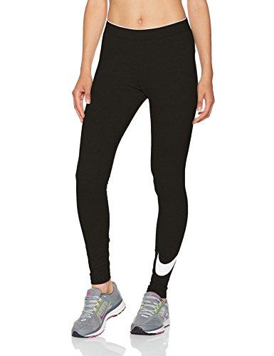 Nike Club Logo2 Pantalón, Mujer, (Black/White), M