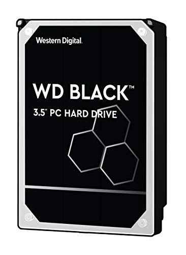 WD Black Performance Desktop Hard Disk Drive da 2 TB, 7200 RPM, SATA 6 Gb/s, Cache 64 GB, 3.5'