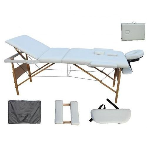 D&S Vertrieb Massageliege - Holz 3 Zonen