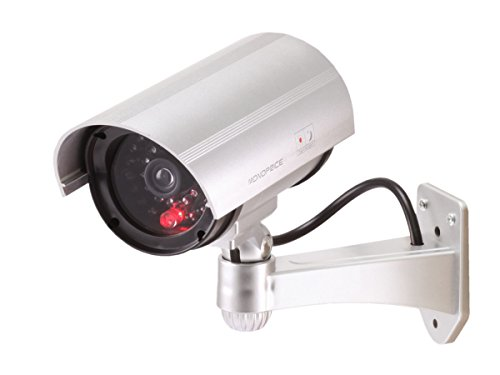 Monoprice 108428 Dummy IR Bullet Camera with Flashing Red Activity LED (Black)