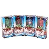 Marvel Action Figure Avengers 15cm set di 4, Spider-Man, Iron Man, Captain America & Hulk