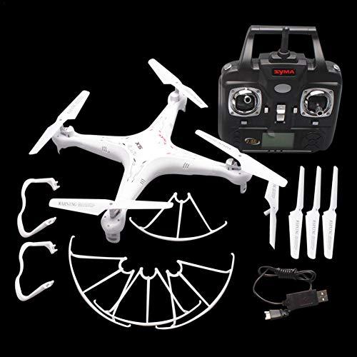 Hete-supply Elicottero a Quattro Assi di Aerei SYMA X5 2.4G Modello a droni profilati, Bianco