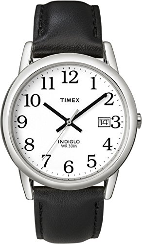 Timex Herren-Armbanduhr Weiß Analog Leder T2H281D7