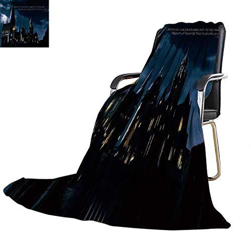 YOYI-home Coperta Harry Potter Paper HD Caldo in Microfibra per Tutte Le Stagioni, Coperta per Letto...