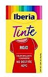 Iberia Tinte Textil Color Rojo - 70 gr