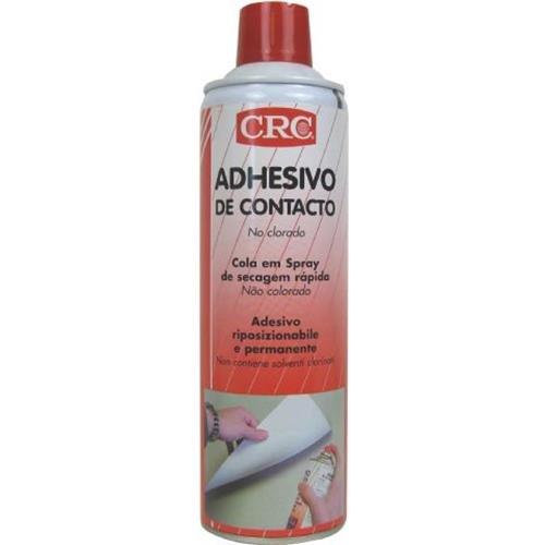 RC2 Corporation - Crc - Adhesivo Contacto Aerosol Spray Adhesivo De Secado Rápido Indicado Para Todo Tipo De Materiales Porosos 500 Ml