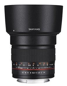 Samyang 85mm F1.4lente para conector