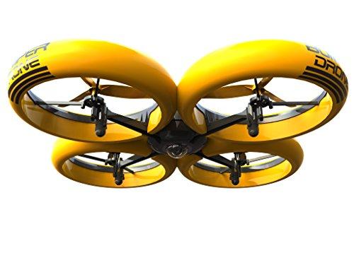 SilverLit Bumper Drone Incassable avec caméra HD - Couleur Jaune 24