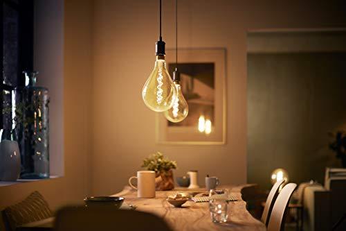 41FgylDx%2BrL Bon Philips Hue !  Philips ampoule LED Giant Standard Vintage Filament E27 5W Equivalent 25W Claire Ambrée Blanc chaud