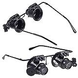 20x lente di ingrandimento lente di ingrandimento lente di ingrandimento gioielliere orologiai luce LED