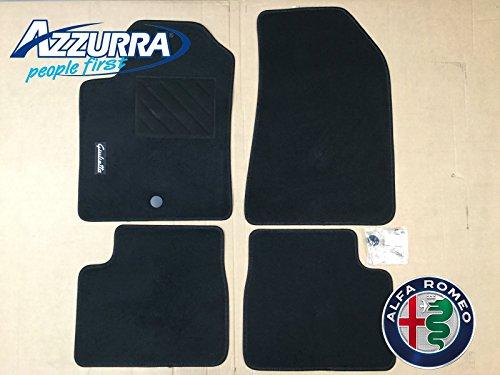 FCA 71807974 Alfa Romeo Giulietta 1 Pin Tappeti Moquette Anteriori E Posteriori Originali Tappetini