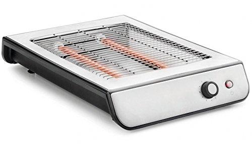 Orizzontale con timer Tostapane 600W panini Back dispositivo Acciaio Inossidabile...