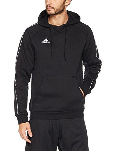 adidas Herren CORE18 Hoody Sweatshirt Black/White XL