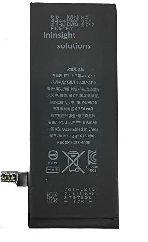Ininsight solutions 1810mAh Battery for iphon 6 (3 Months Seller Warranty)