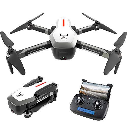 Goolsky SG906 GPS Senza spazzole 4K Drone con Fotocamera 5G WiFi FPV Pieghevole Ottico Flusso di Posizionamento Altitude Hold RC Quadcopter