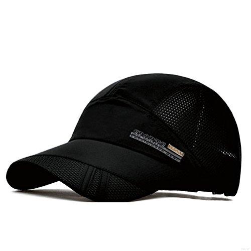 704aa6d16de GADIEMENSS Quick Dry Sports Hat Lightweight Breathable Soft Outdoor ...