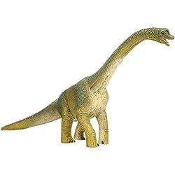 Schleich- Figura dinosaurio Braquiosaurio, Color marrón, 18,5 cm